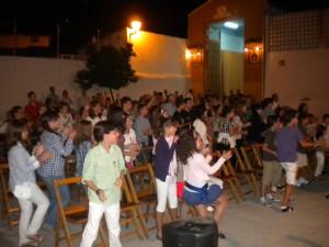 Fiesta en la Plaza de la Purísima Concepción por el Campamento de Verano