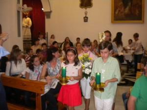 Misa de Acción de Gracias por el Campamento de Verano