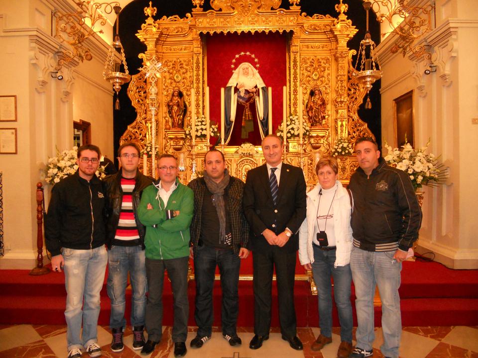 Con la Estrella de Sevilla
