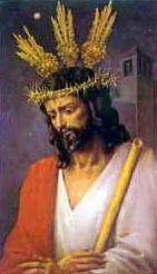 Cartel de la Semana Santa de Jaén 1995