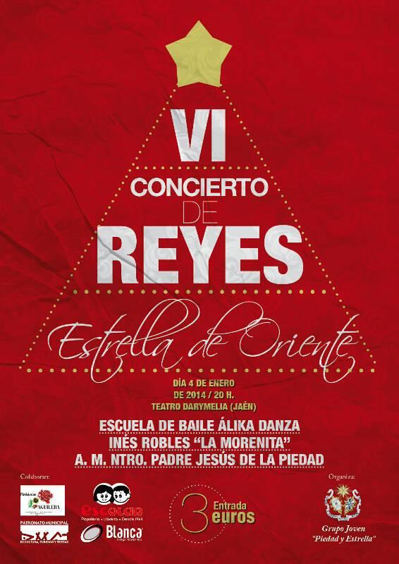 cartel concierto reyes 2014