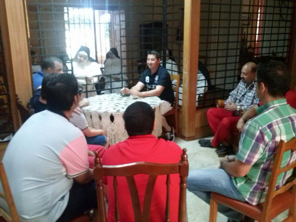 Visita de la hermandad a las Madres Dominicas
